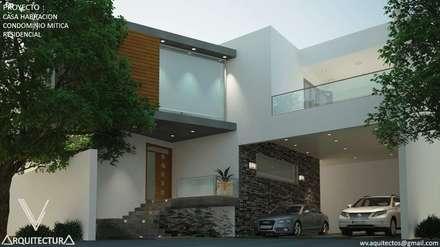 Condominios de estilo  por V Arquitectura