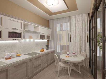 Интерьер кухни: Встроенные кухни в . Автор – ИнтеРИВ