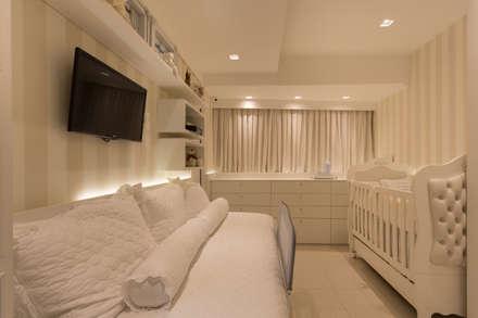 غرف الرضع تنفيذ Larissa Vinagre Arquitetos
