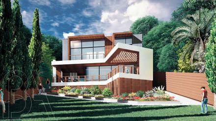 Вилла на море / Twisted house: Дома с террасами в . Автор – BOOS architects