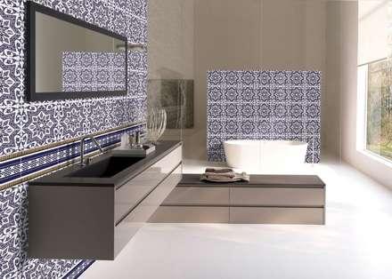 Badezimmer ideen design und bilder homify for Unglaublich mediterrane badezimmer fliesen bunt