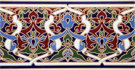 """""""Orientalische"""" Wandgestaltung -  Made in Spain: mediterrane Badezimmer von KerBin GbR   Fliesen  Naturstein  Mosaik"""