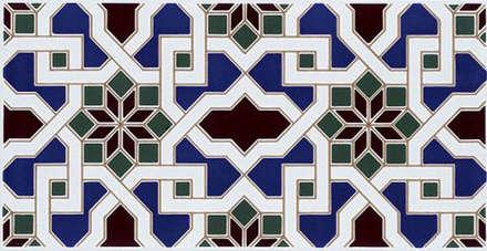 """""""Orientalische"""" Wandgestaltung -  Made in Spain: mediterraner Fitnessraum von KerBin GbR   Fliesen  Naturstein  Mosaik"""