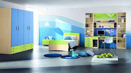 Thiết kế nội thất phòng ngủ cho bé:  Phòng trẻ em by Thương hiệu Nội Thất Hoàn Mỹ