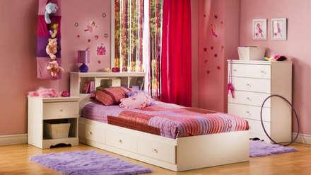 Thiết kế phòng ngủ đẹp cho trẻ:  Phòng ngủ bé gái by Thương hiệu Nội Thất Hoàn Mỹ