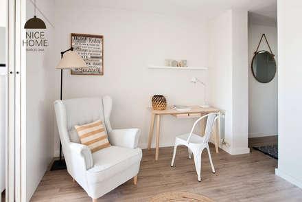 Proyecto Ático: Estudios y despachos de estilo mediterráneo de Nice home barcelona