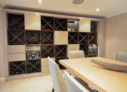 PORTFOLIO: modern Wine cellar by CLINT LEWIS DESIGNS