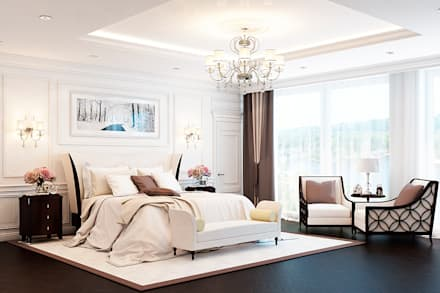 : classic Bedroom by Space Options