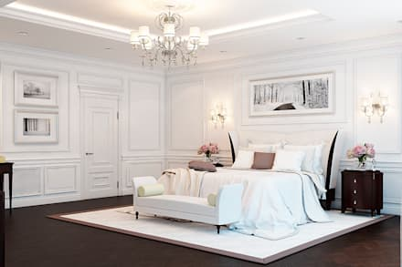 classic bedroom by space options - Bedrooms Interior Design Ideas