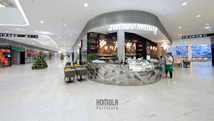 JM:  Bars & Clubs von Homola furniture s.r.o