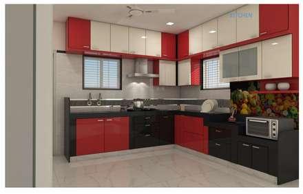 Cocinas equipadas de estilo  por shree lalitha consultants