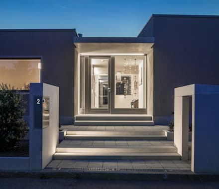 Eingang:  Bungalow von gerken.architekten+ingenieure