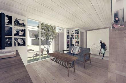 scandinavian Conservatory by 富永大毅建築都市計画事務所