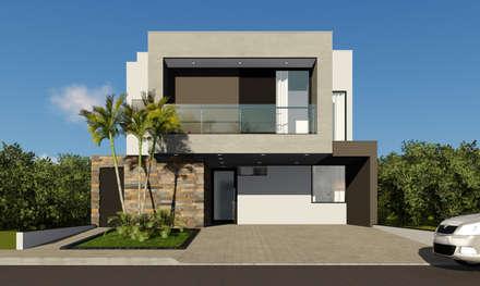 منازل التراس تنفيذ Rafael Caldeira Arquitetura