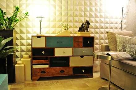 Exhibition centres by Erlon Tessari Arquitetura e Design de Interiores