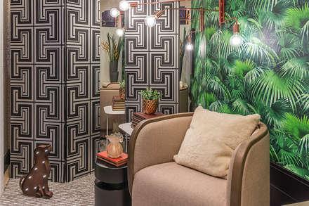 Salas de eventos de estilo  por Erlon Tessari Arquitetura e Design de Interiores