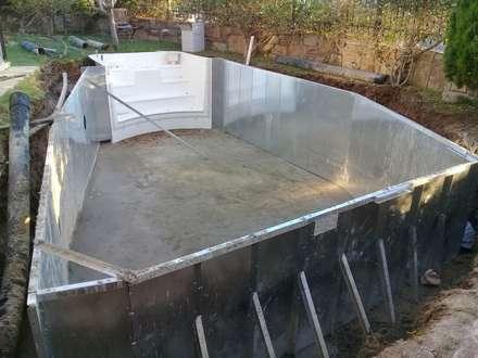 Sıdar Pool&Dome Yüzme Havuzları ve Şişme Kapamalar – Ö. Ersel:  tarz Bahçe havuzu