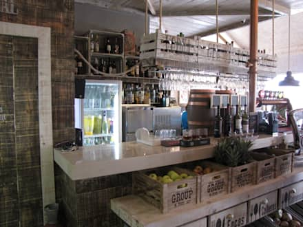 Mercado Saloio: Paredes  por Richimi Factory