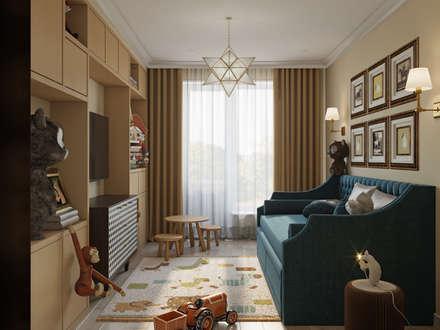 ЖК Южный: Спальни для мальчиков в . Автор – Студия дизайна интерьера Натальи Патрушевой