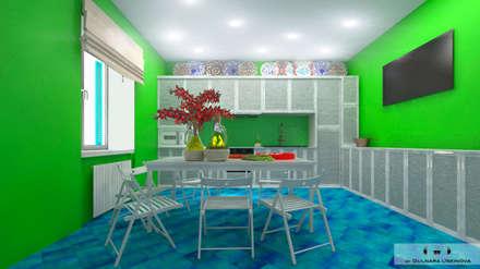 Дизайн-проект загородного дома в Крыму: Кухни в . Автор – Дизайн интерьера под ключ - GDESIGN