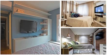 Collage MX: moderne Schlafzimmer von press profile homify