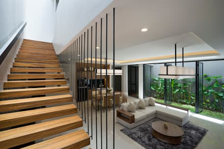 Corridor and hallway by Simple Projects Architecture