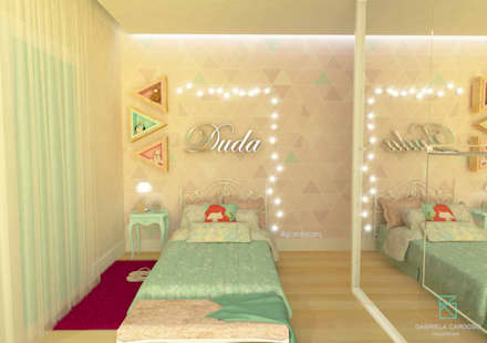 Girls Bedroom by Gabriela Cardoso Arquitetura