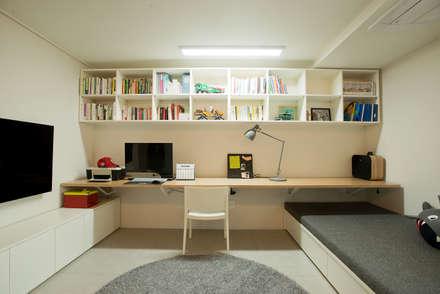 ห้องทำงาน/อ่านหนังสือ by (주)바오미다