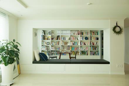 eclectic Study/office by (주)바오미다