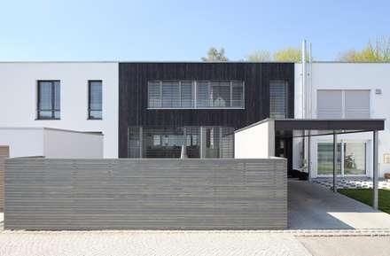 Ansicht:  Passivhaus von Architekturbüro zwo P