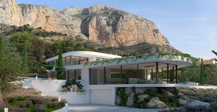 Casa Jatziri: Villas de estilo  de SINGULAR STUDIO