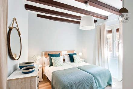 mediterranean Bedroom by Nice home barcelona