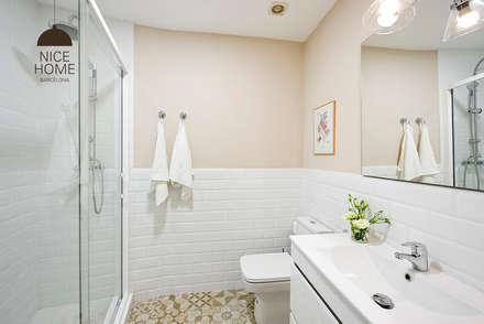 mediterranean Bathroom by Nice home barcelona