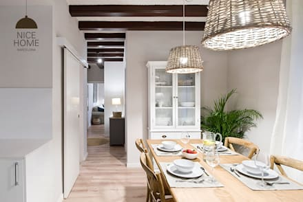 mediterranean Dining room by Nice home barcelona