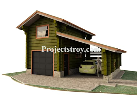 Double Garage by Projectstroy