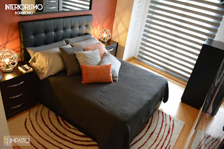 Dormitorio principal: Dormitorios de estilo industrial de IMPATTO