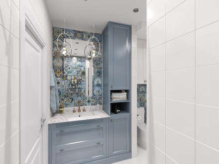 Baños de estilo clásico por Мастерская дизайна Онищенко Марии