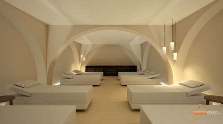Saunas de estilo  por Realistic-design