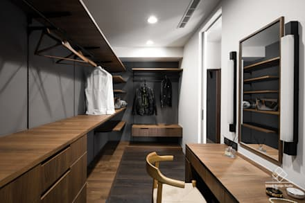 modern Dressing room by 極簡室內設計