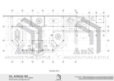 Dự án nhà hàng cao cấp 5*:  Nhà hàng by AnS - Architecture Style