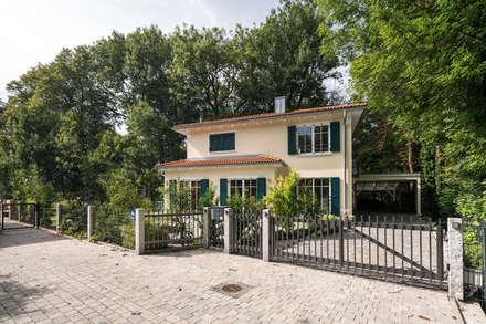 Stadtvilla im mediterranen Stil :  Landhaus von wir leben haus