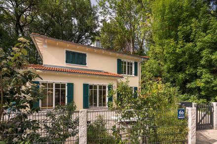 Stadtvilla Im Mediterranen Stil : Villa Von Wir Leben Haus