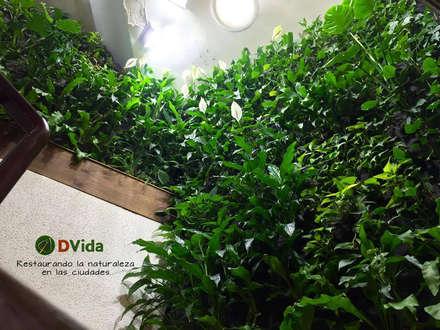 Jardines verticales DVida : Hoteles de estilo  por DVida Jardines verticales