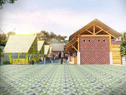 Waroeng Nusantara:  Restoran by Chans Architect