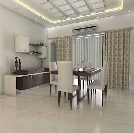 Awesome Design Ideas For My Home Vihanga: Modern Dining Room By URBAN HOSPEX  INTERIORS Design Ideas