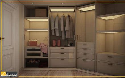 شقة مساكن شيراتون:  غرفة الملابس تنفيذ Art Attack