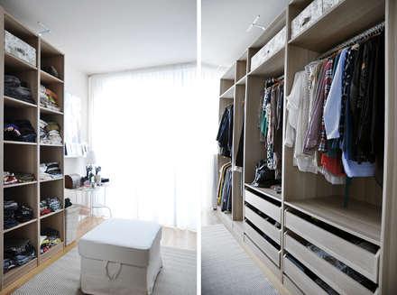 Closets de estilo escandinavo por BGP studio