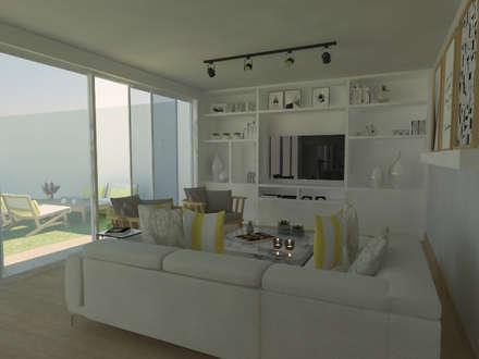 Interiorismo NYC: Comedores de estilo moderno por FG ARQUITECTURA E INTERIORISMO