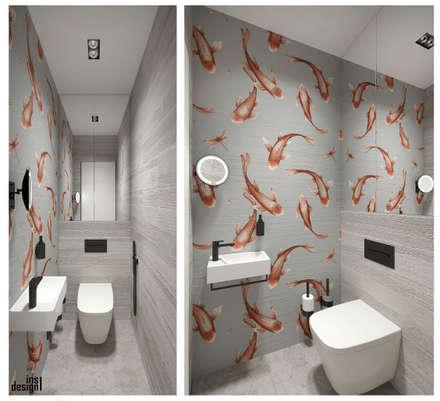 """ЖК """"Савеловский Сити"""": Ванные комнаты в . Автор – insdesign II"""