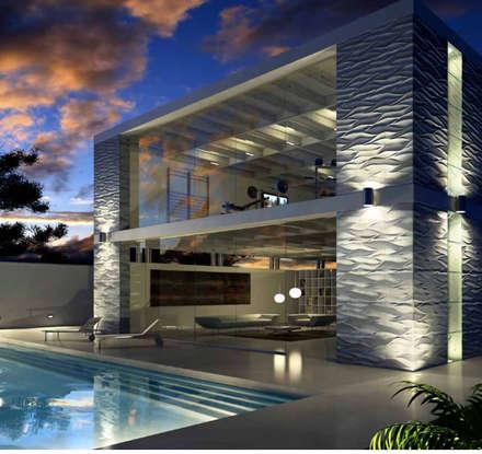 moderner Pool von Keha Casa